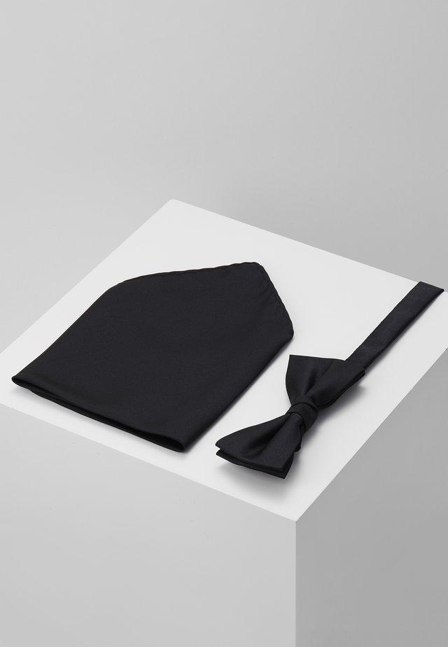 BUSTER SET - Lommetørklæde - black