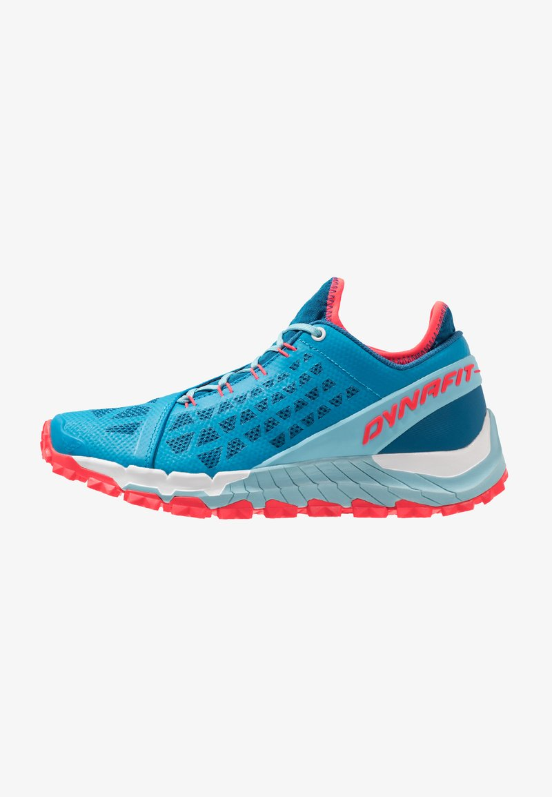 Dynafit - TRAILBREAKER EVO - Zapatillas de trail running - mykonos blue/fluo pink