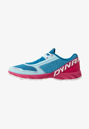 FELINE UP - Trail running shoes - mykonos blue/sangria
