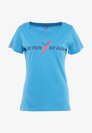 GRAPHIC TEE - T-shirt con stampa - methyl blue
