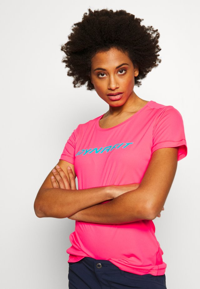 TRAVERSE TEE - T-shirt med print - fluo pink