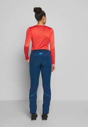 TRANSALPER - Spodnie materiałowe - poseidon