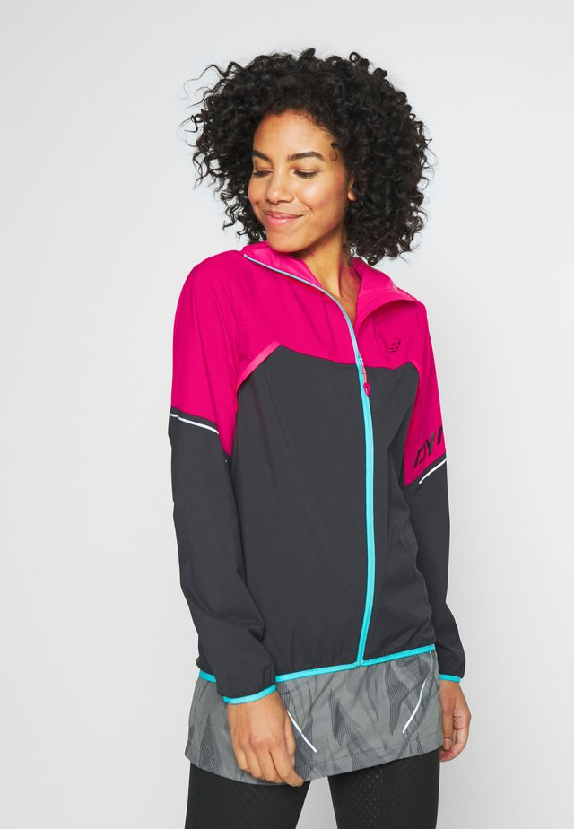 ALPINE  - Giacca hard shell - fluo pink