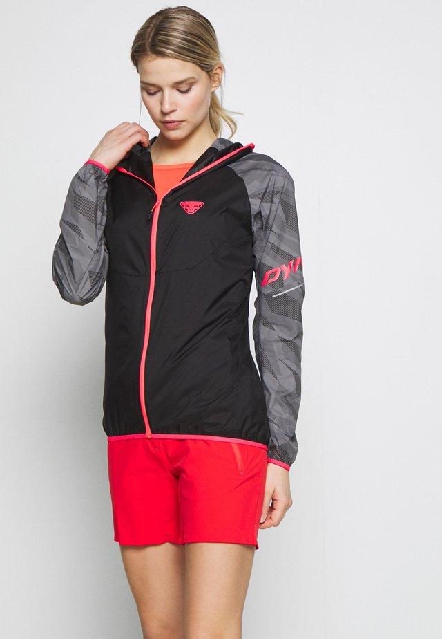 VERT WIND - Waterproof jacket - grey