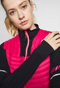 Dynafit - ELEVATION HYBRID - Sports jacket - lipstick - 3