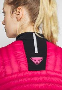 Dynafit - ELEVATION HYBRID - Sports jacket - lipstick - 4
