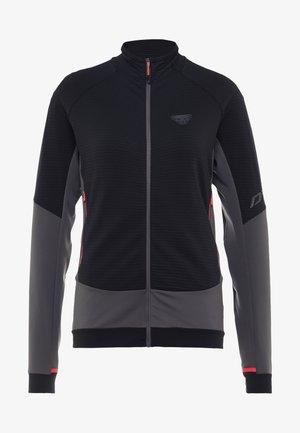 LIGHT THERMAL - Fleece jacket - black out