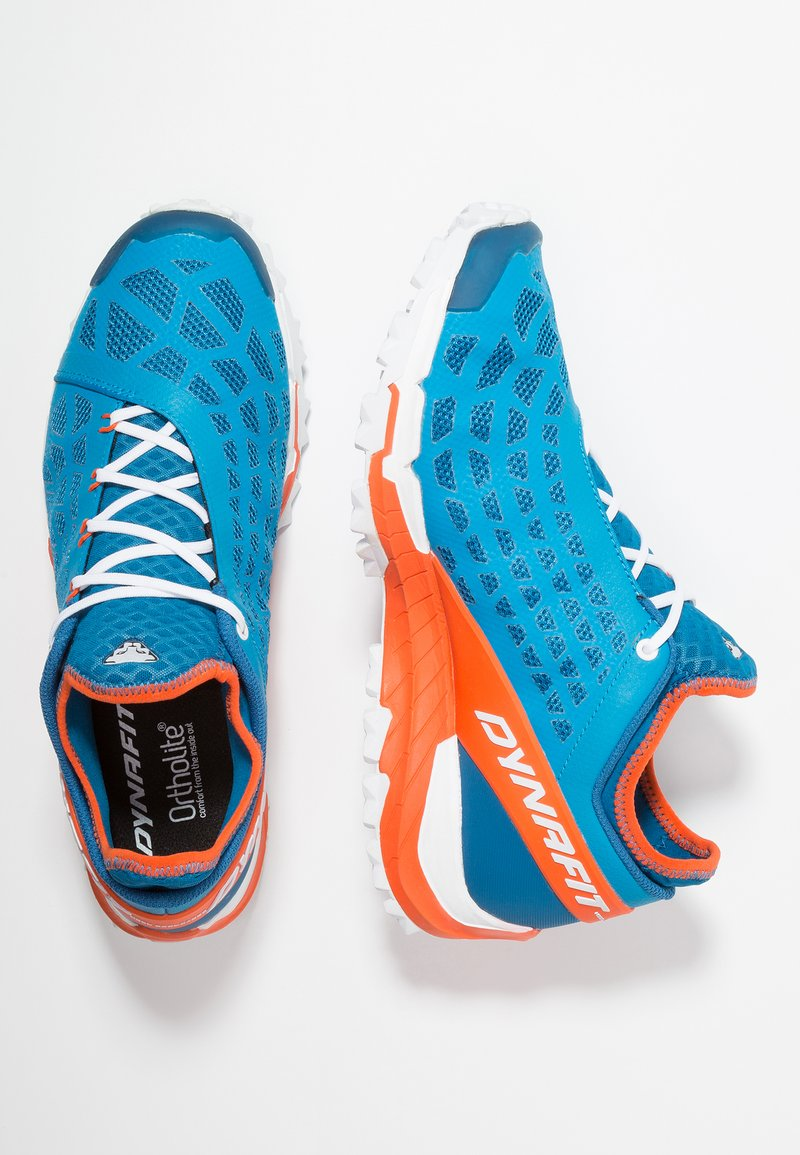Dynafit - TRAILBREAKER EVO - Löparskor terräng - methyl blue/orange