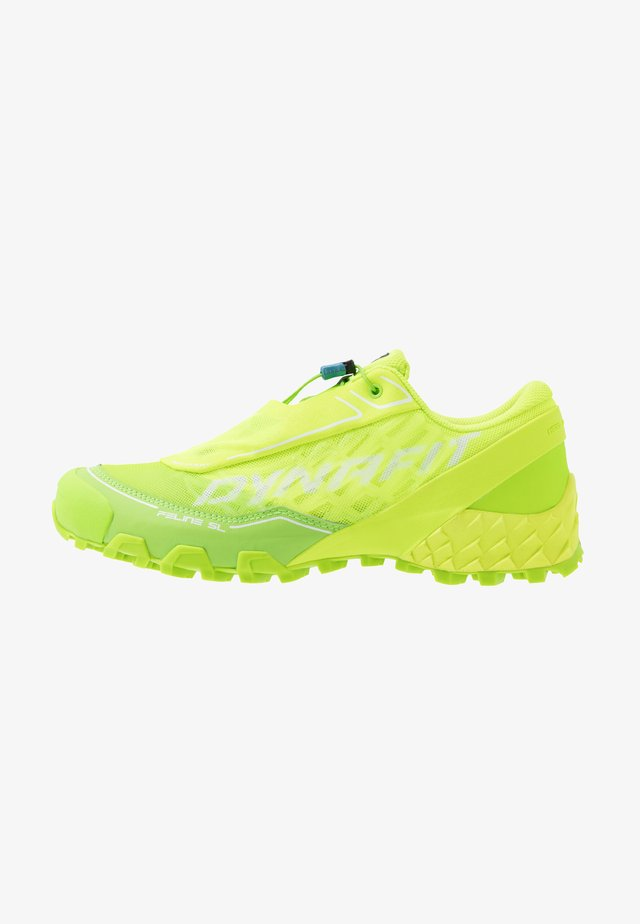 FELINE SL - Trail running shoes - fluo yellow