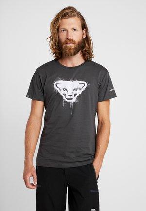 GRAPHIC TEE - T-shirt imprimé - asphalt