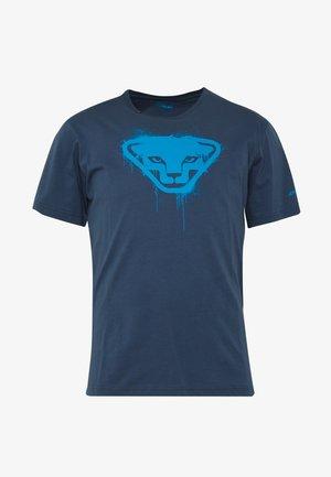 GRAPHIC TEE - Print T-shirt - midnight navy