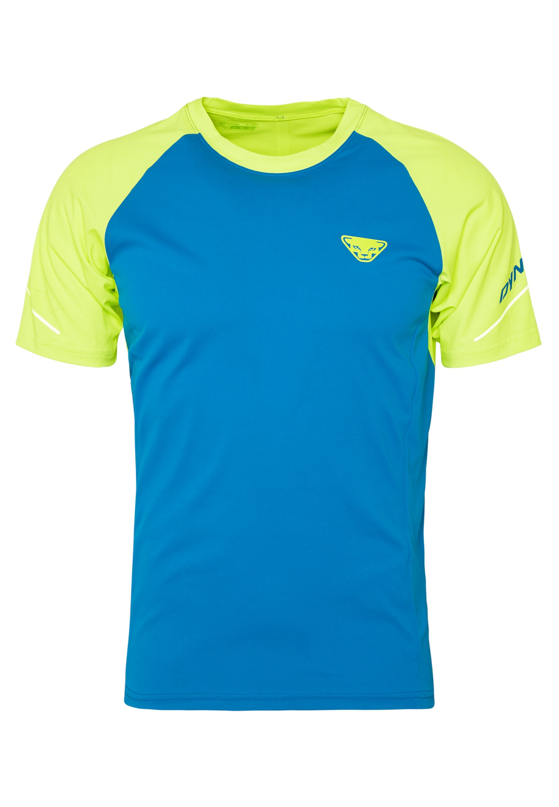 Dynafit ALPINE PRO TEE - T-shirt con stampa - fluo yellow