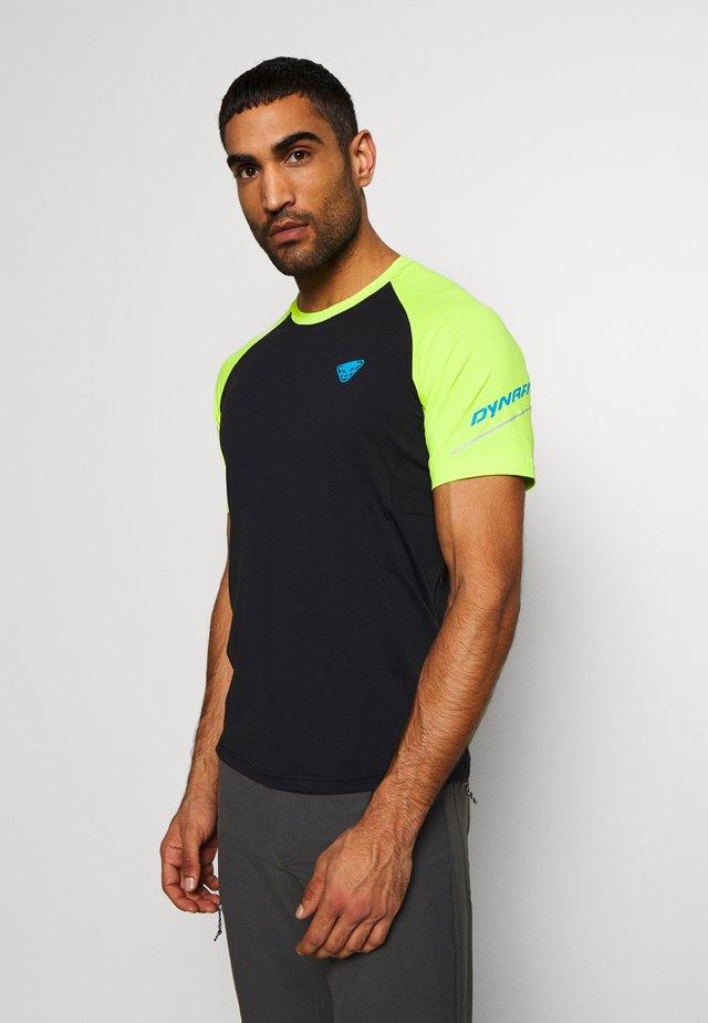 ALPINE PRO TEE - T-shirts med print - black