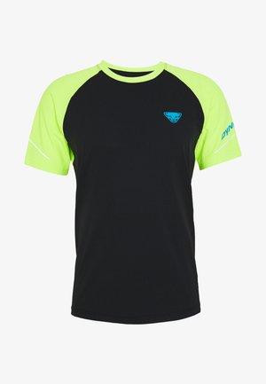 ALPINE PRO TEE - Print T-shirt - black