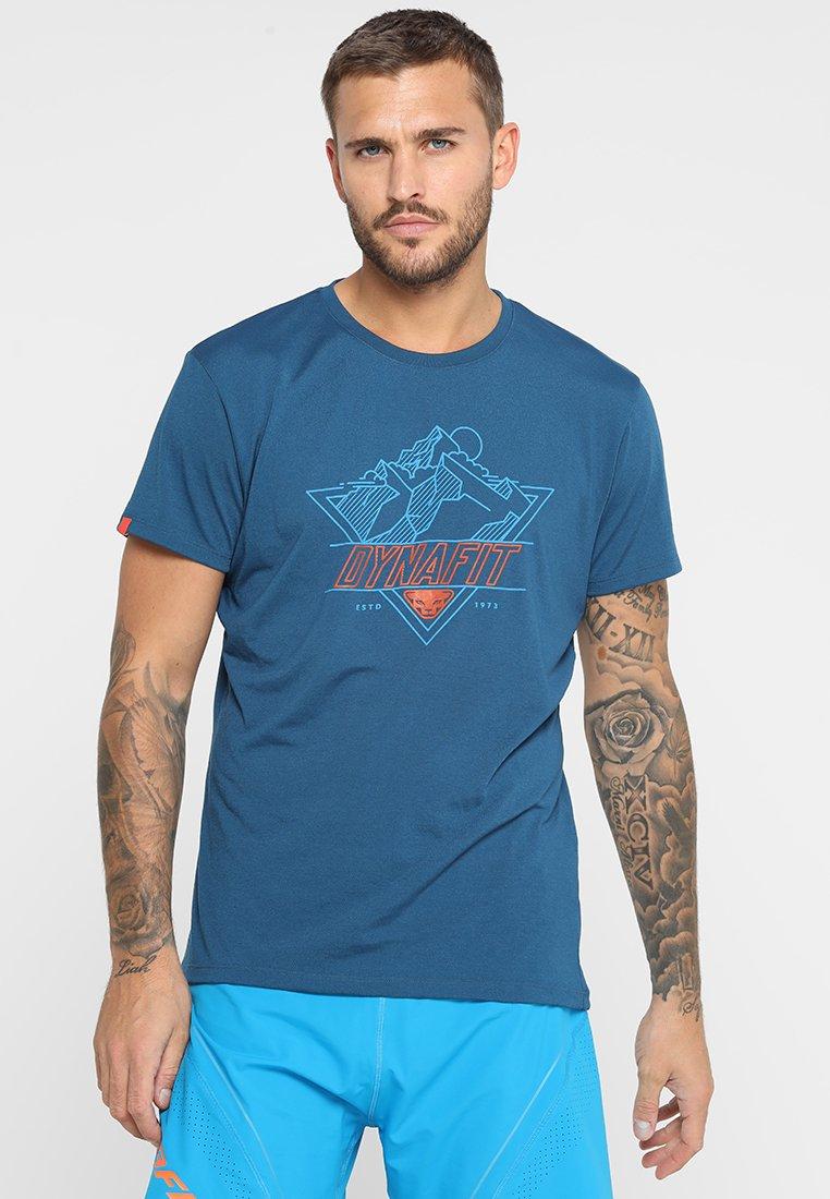 Dynafit - TRANSALPER GRAPHIC TEE - T-Shirt print - poseidon