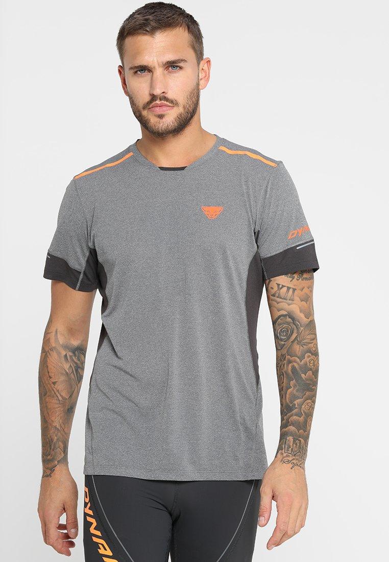 Dynafit - VERT TEE - T-shirt print - magnet melange