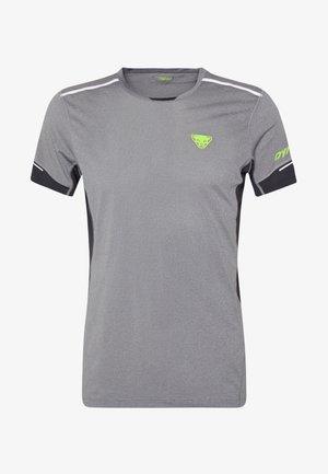 VERT TEE - T-shirt med print - quiet shade melange