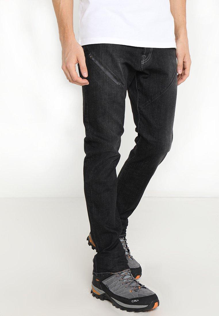 Dynafit - Straight leg jeans - jeans black