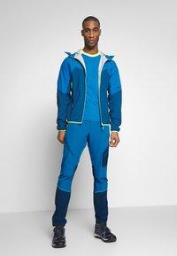 Dynafit - TRANSALPER - Spodnie materiałowe - mykonos blue - 1