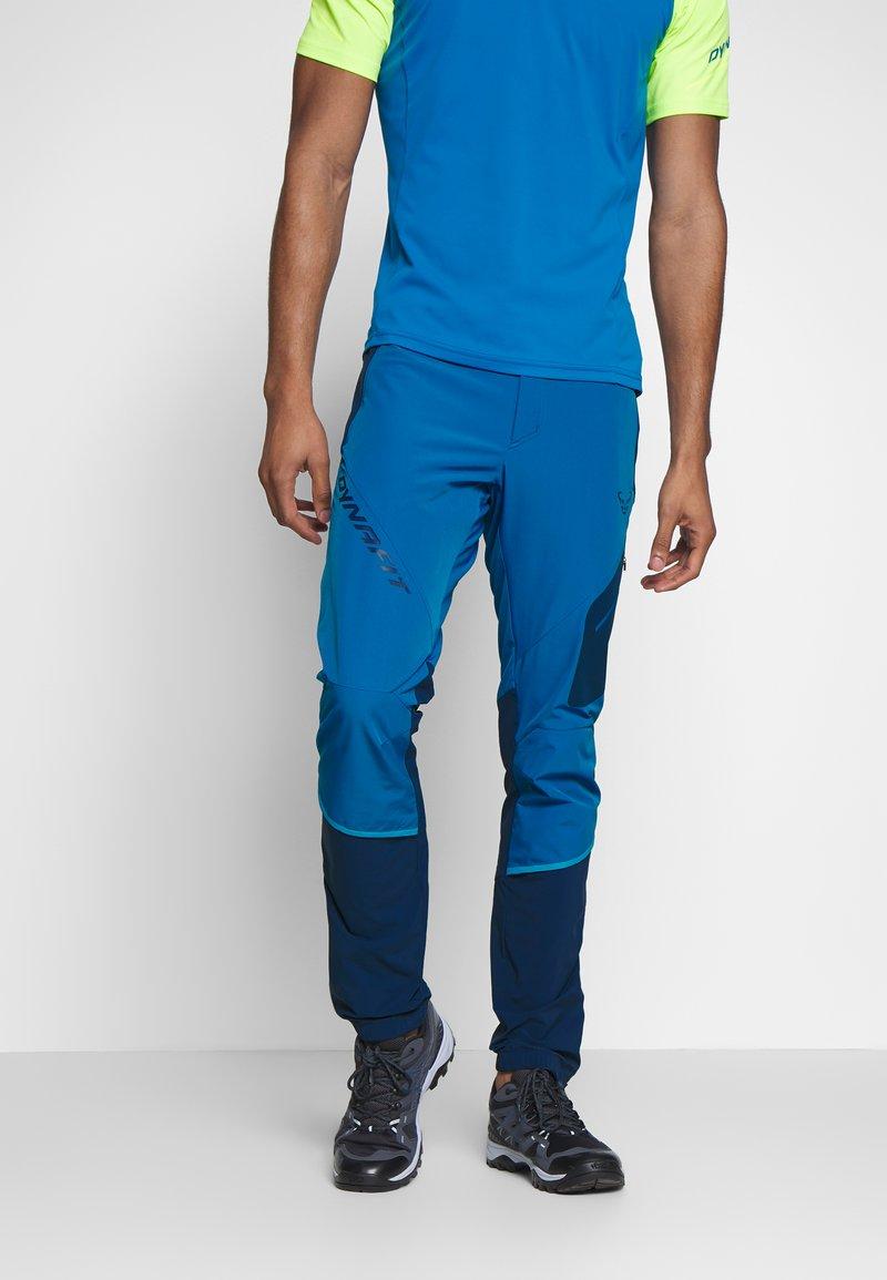 Dynafit - TRANSALPER - Spodnie materiałowe - mykonos blue
