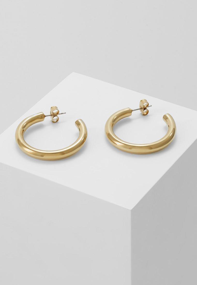 Dyrberg/Kern - CIRKULA - Øreringe - shiny gold-coloured