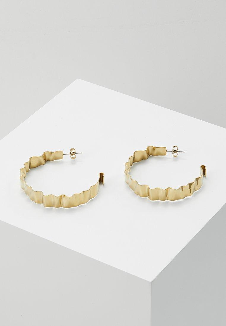 Dyrberg/Kern - ADORNIA SHINY  - Earrings - shiny gold-coloured