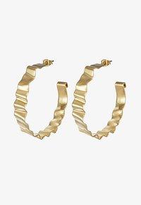 Dyrberg/Kern - ADORNIA SHINY  - Earrings - shiny gold-coloured - 3