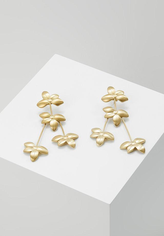 MONIFA MATT - Orecchini - gold-coloured