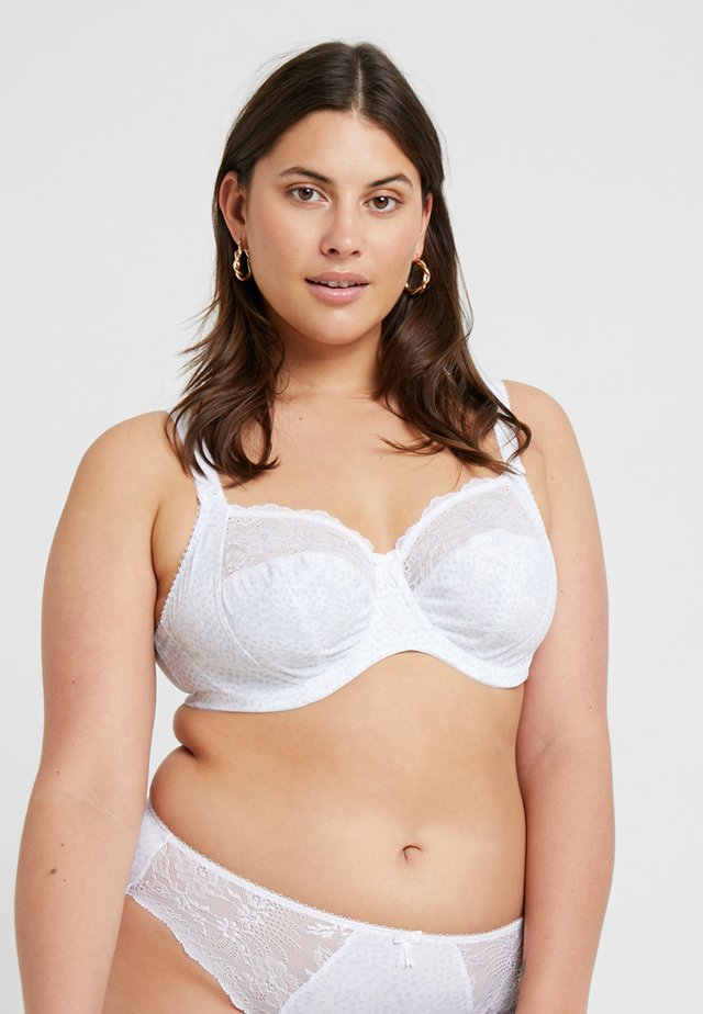 MORGAN BANDED BRA - Beugel BH - white
