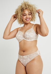 Elomi - MORGAN BANDED BRA - Underwired bra - toasted almond - 1