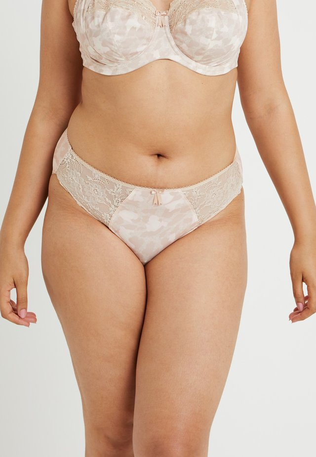 MORGAN BRIEF - Slip - toasted almond
