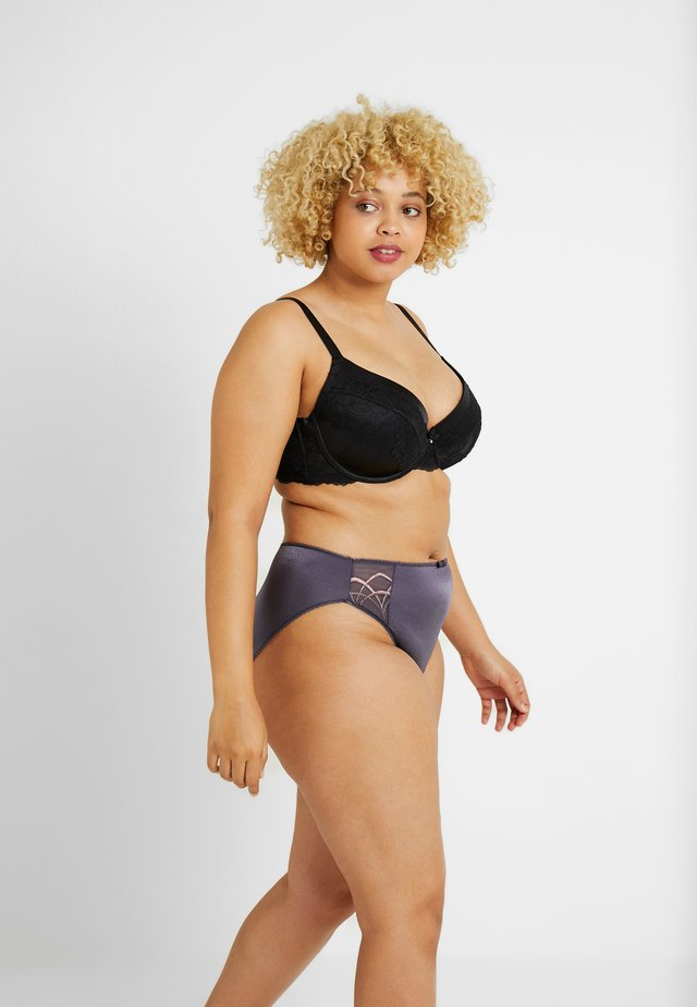 CATE BRIEF - Slip - anthracite