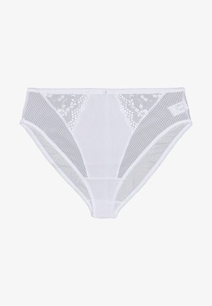 CHARLEY HIGH LEG BRIEF - Slip - white