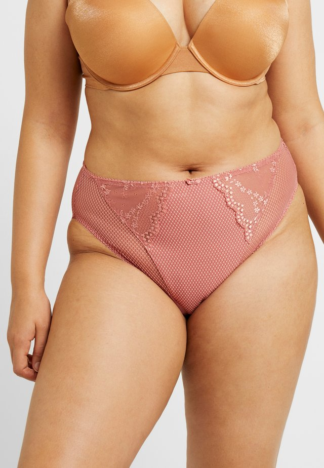 CHARLEY HIGH LEG BRIEF - Slip - rosegold