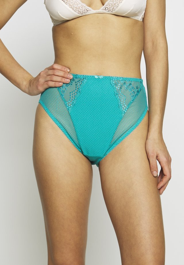 CHARLEY HIGH LEG BRIEF - Slip - tahiti