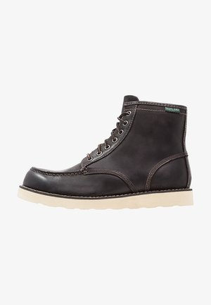 LUMBER UP - Lace-up ankle boots - black