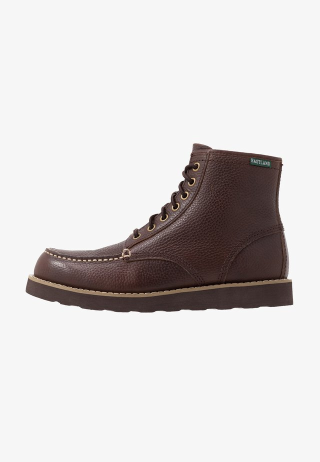 LUMBER UP - Schnürstiefelette - brown