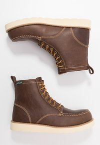 Eastland - LUMBER UP - Lace-up ankle boots - dark tan - 1