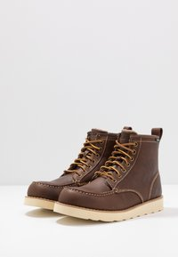 Eastland - LUMBER UP - Lace-up ankle boots - dark tan - 2