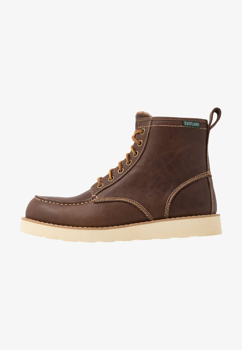 Eastland - LUMBER UP - Lace-up ankle boots - dark tan