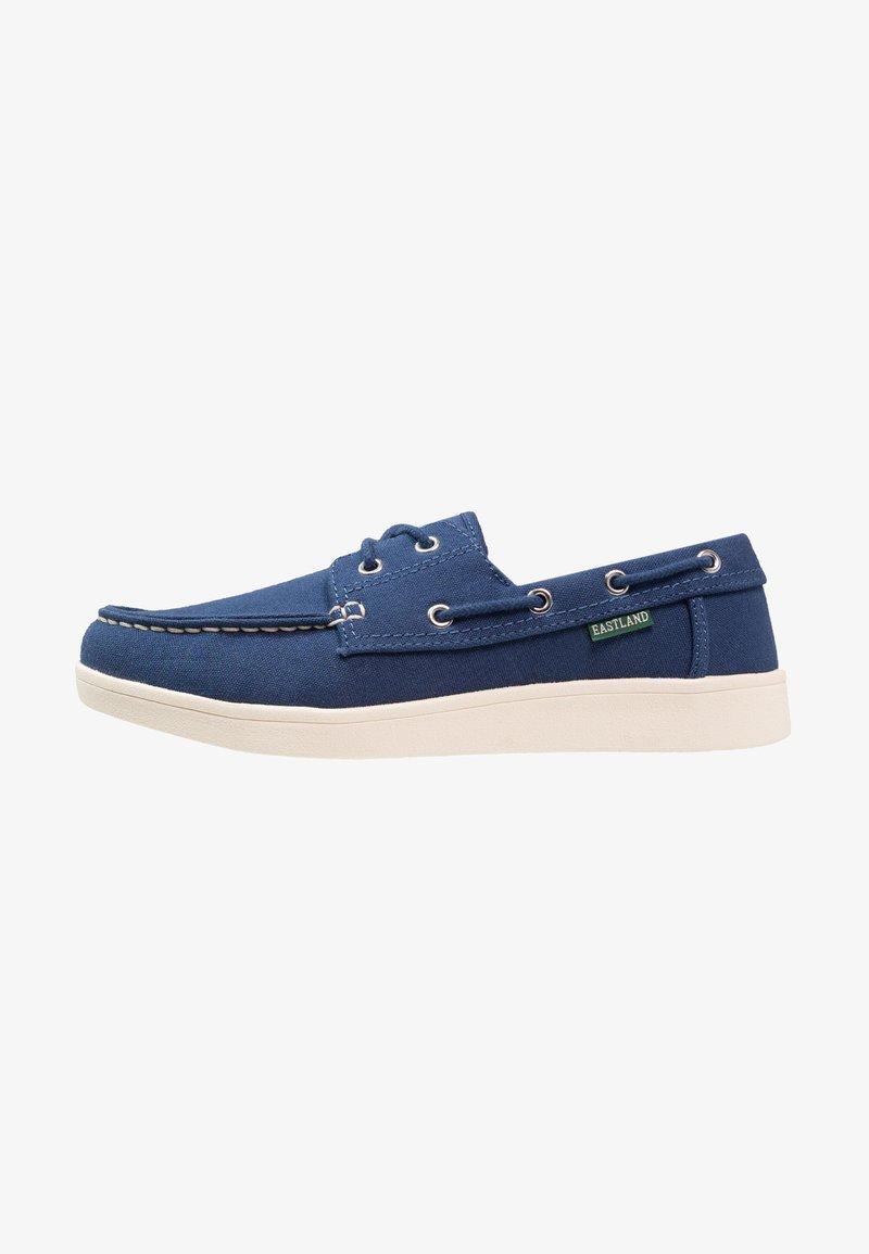 Eastland - POPHAM - Boat shoes - blue