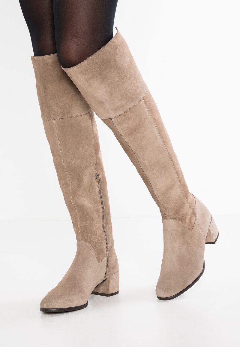 Élysèss - Over-the-knee boots - taupe