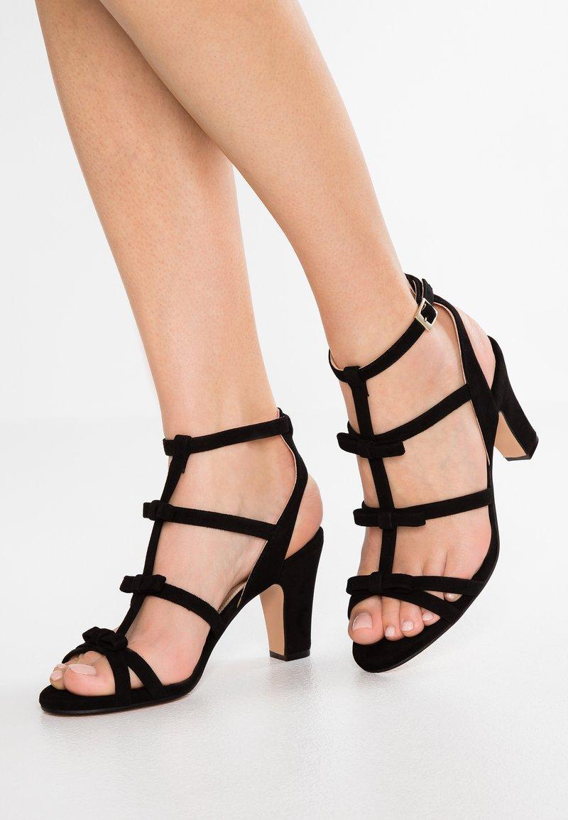 Élysèss - High heeled sandals - black