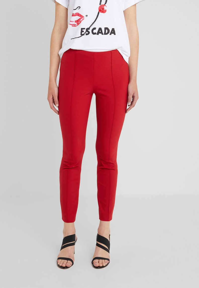Escada Sport - TEPITA - Pantaloni - dark rouge