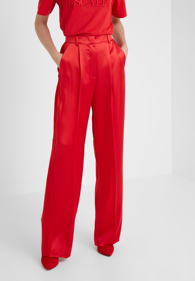 TALICIS TROUSER - Trousers - rita red