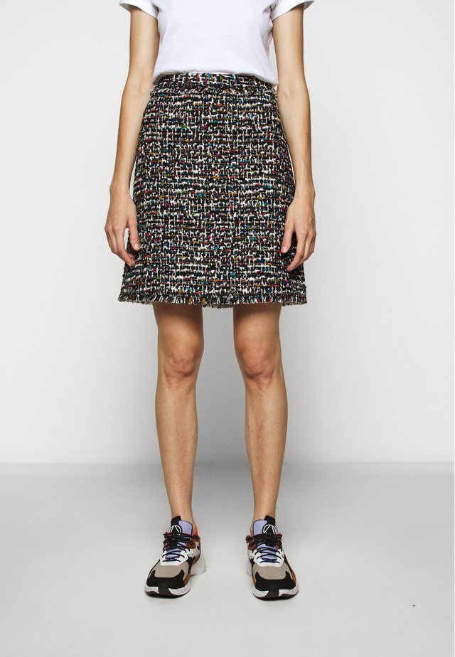 RITANO - A-line skirt - black