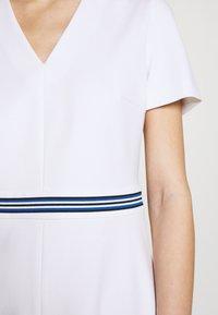 Escada Sport - DUKATI - Žerzejové šaty - white - 7