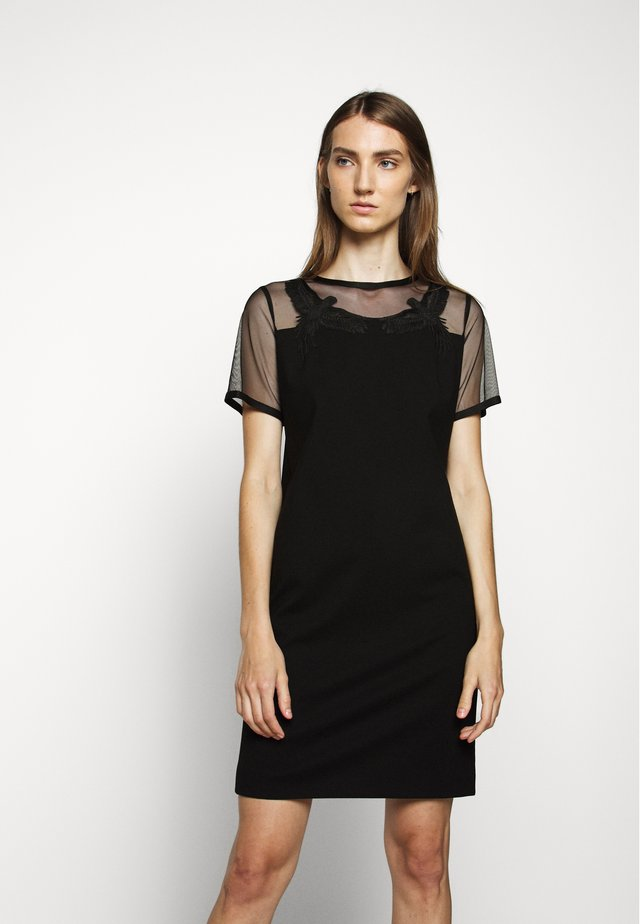 DABIRDYA - Jersey dress - black