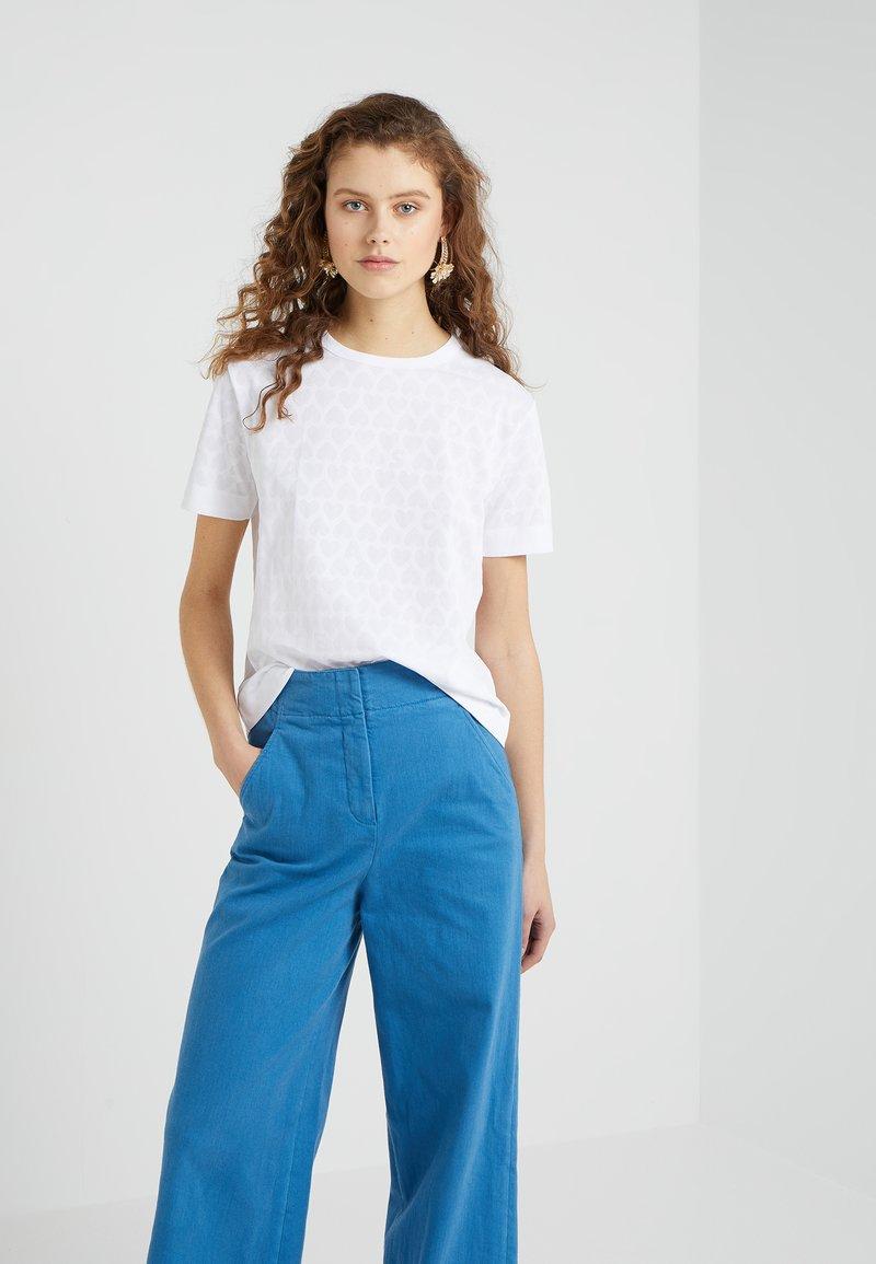 Escada Sport - T-shirt imprimé - white