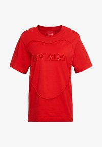 Escada Sport - EHERZ TEE - T-shirt con stampa - rita red - 3